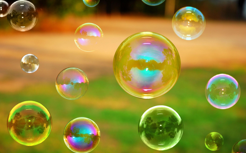 Hd bubbles wallpaper