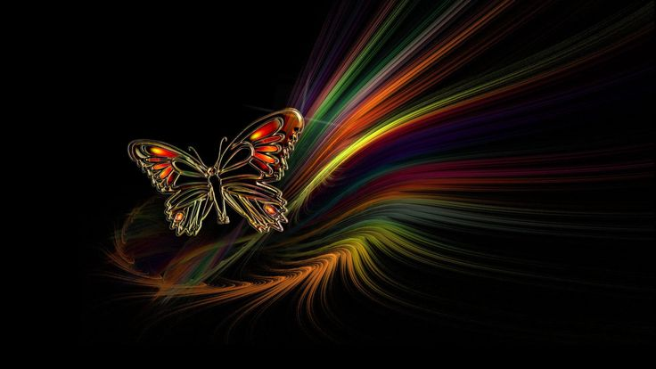 Fantasy butterfly backgrounds | Download Red Butterfly wallpaper