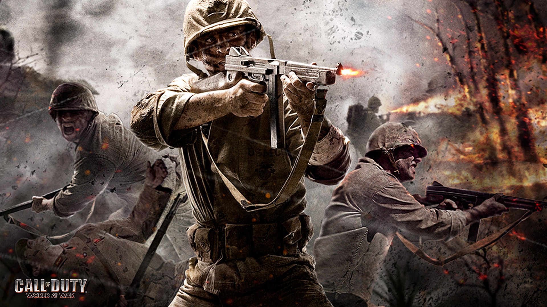 HD Call Of Duty World At War Wallpapers