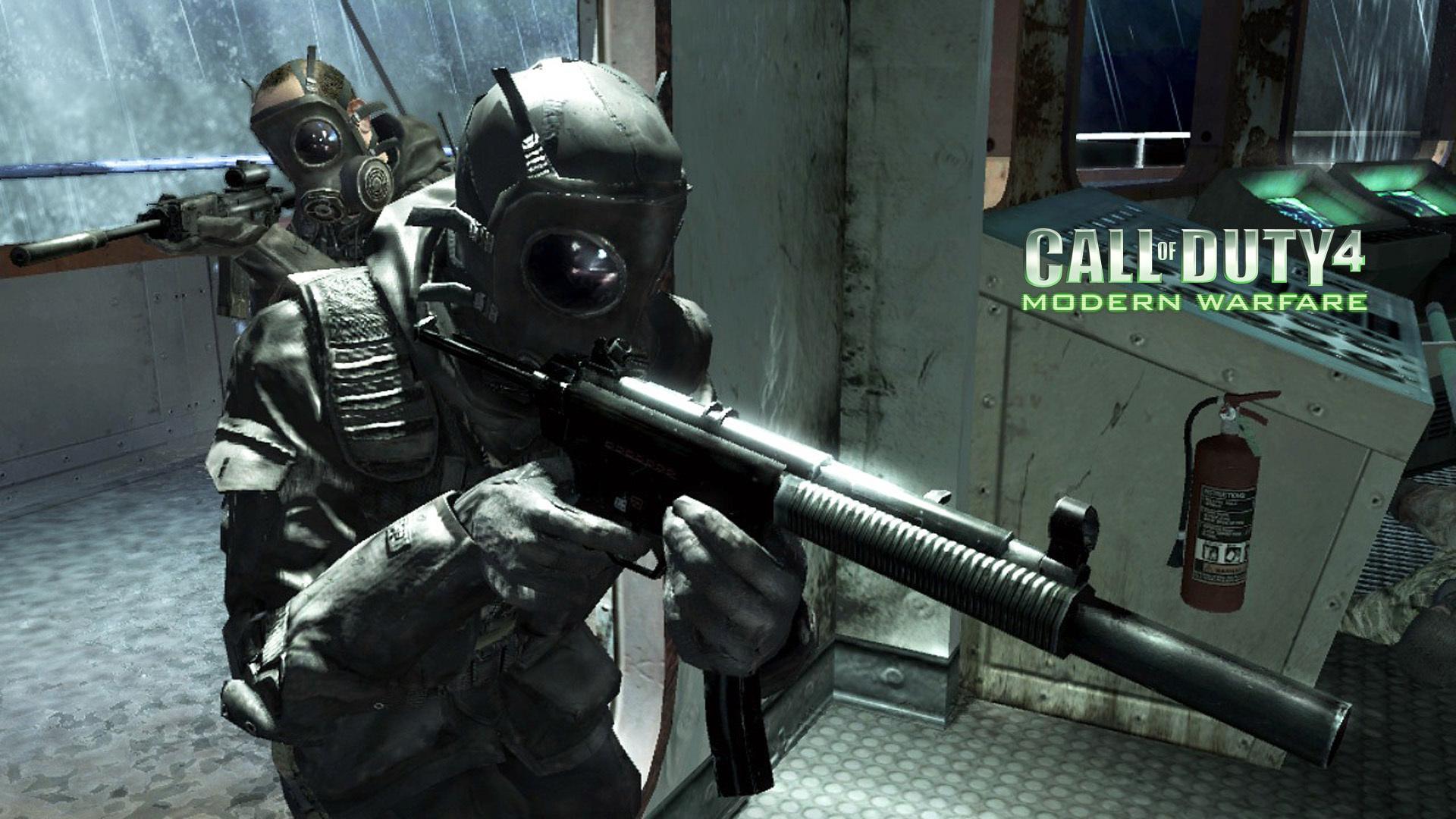 Call Of Duty 4 Modern Warfare Wallpaper 2639 1920x1080