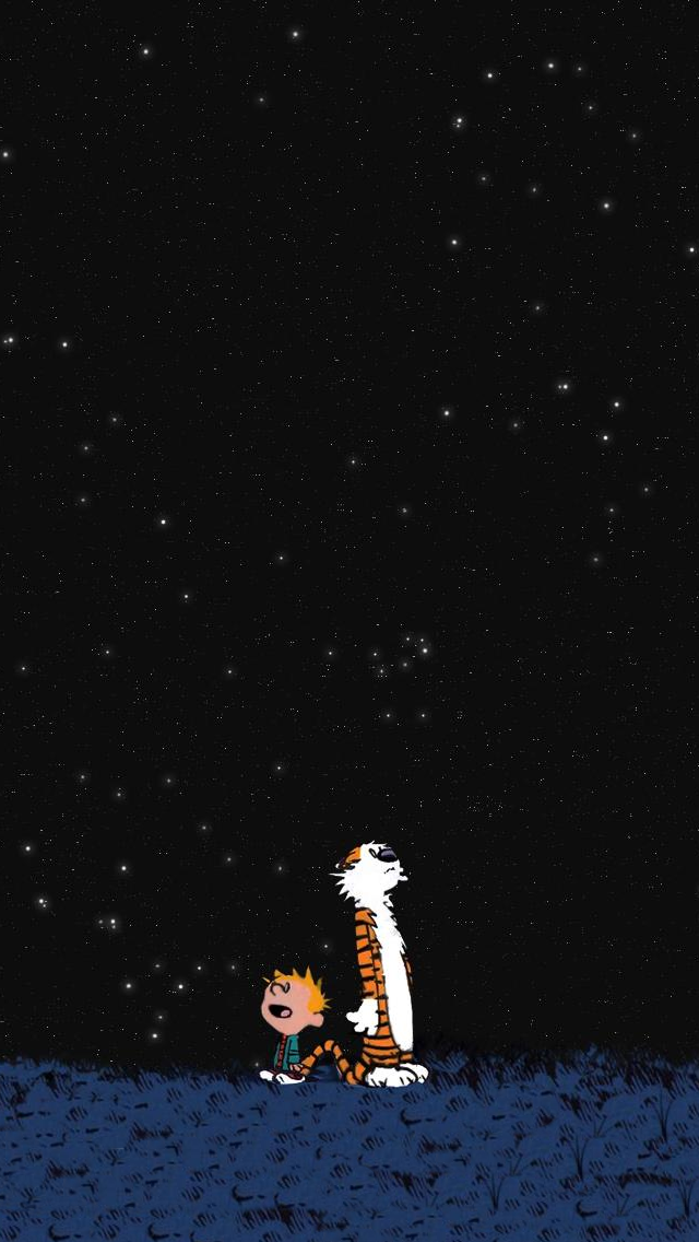 Calvin And Hobbes iPhone 5 Wallpapers