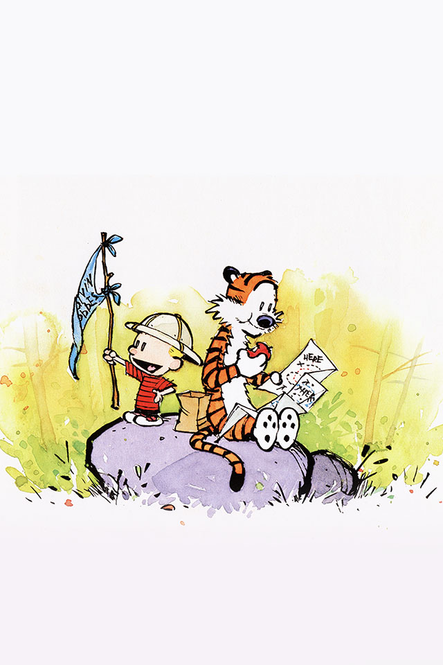 Calvin And Hobbes Iphone Wallpaper Page 1