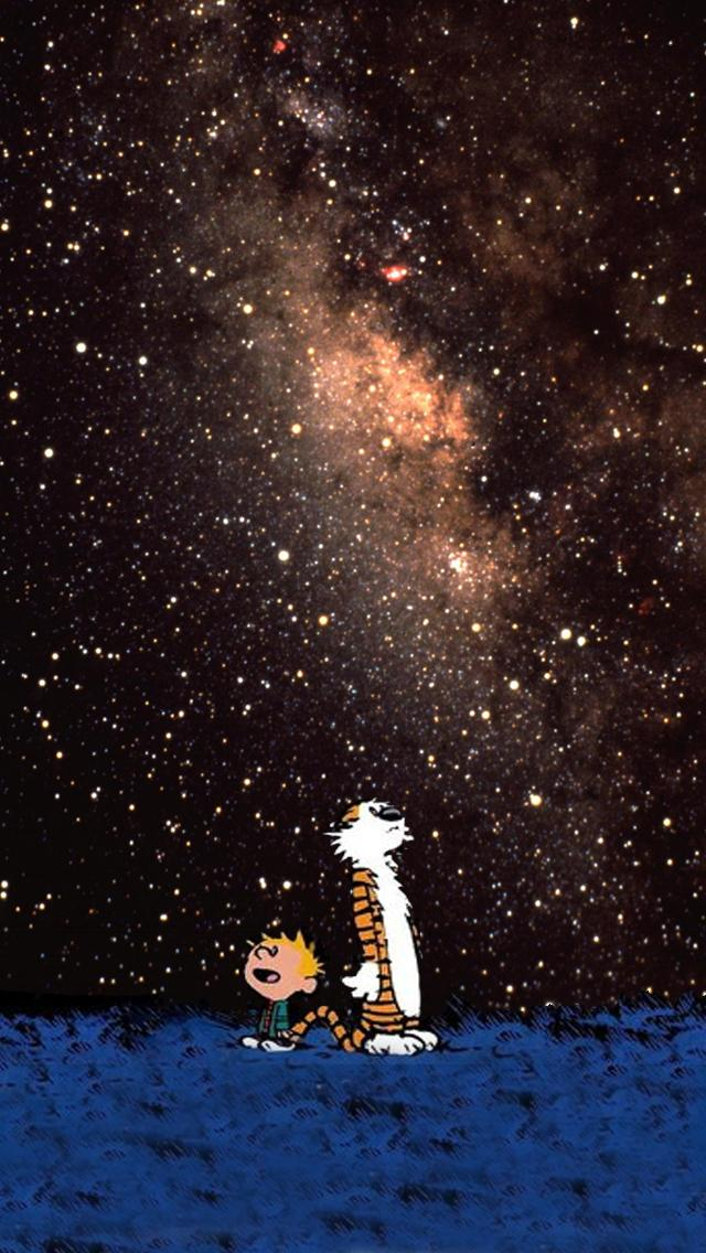 Thought I'd share my Calvin & Hobbes iPhone wallpaper : iphone