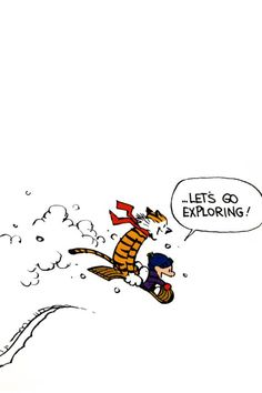 Calvin and Hobbes | Bill Watterson | Pinterest | Murals, Nursery