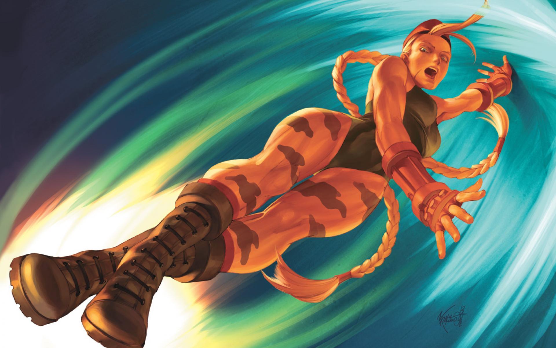 Street Fighter Cammy Wallpaper | Customity