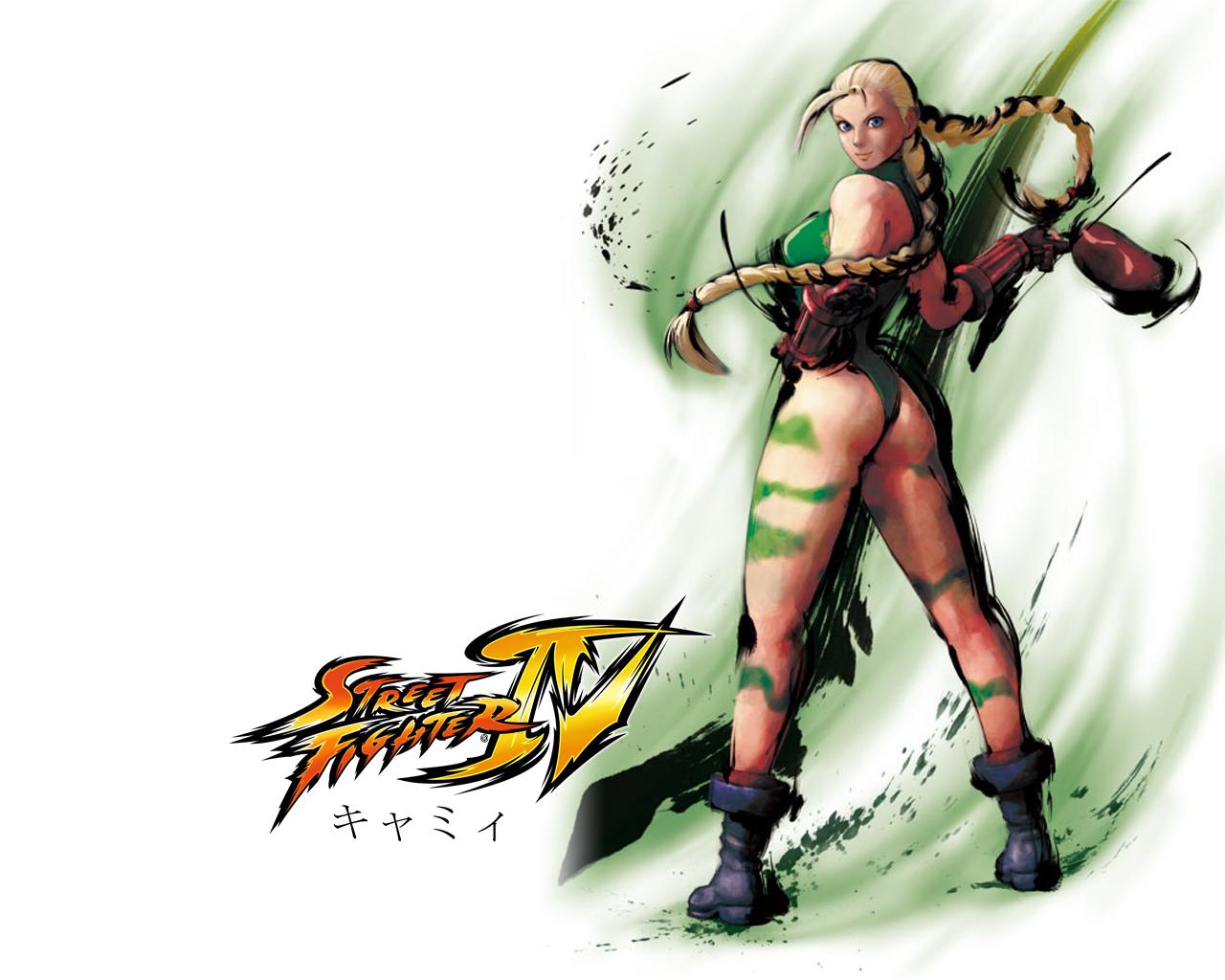 Street Fighter 4 Cammy Wallpaper | Customity