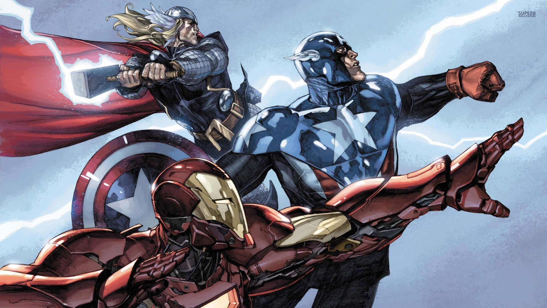 Captain America Comic Wallpapers Group (72+)