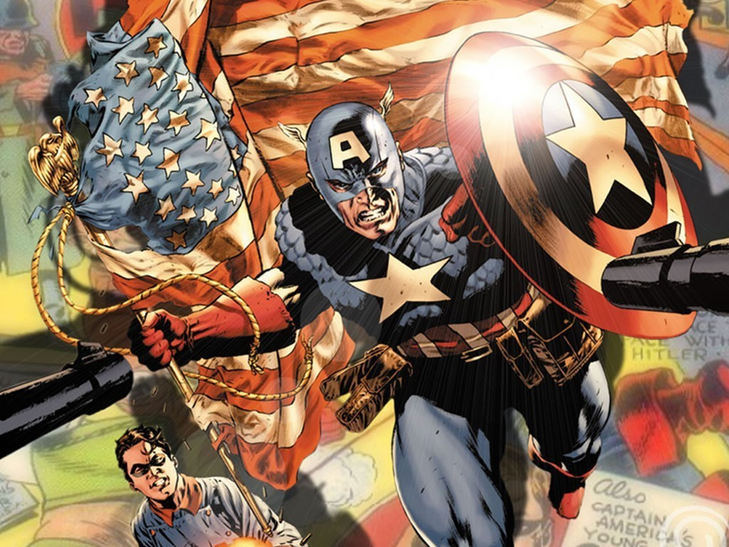 Marvel Wallpaper Captain America - WallpaperSafari