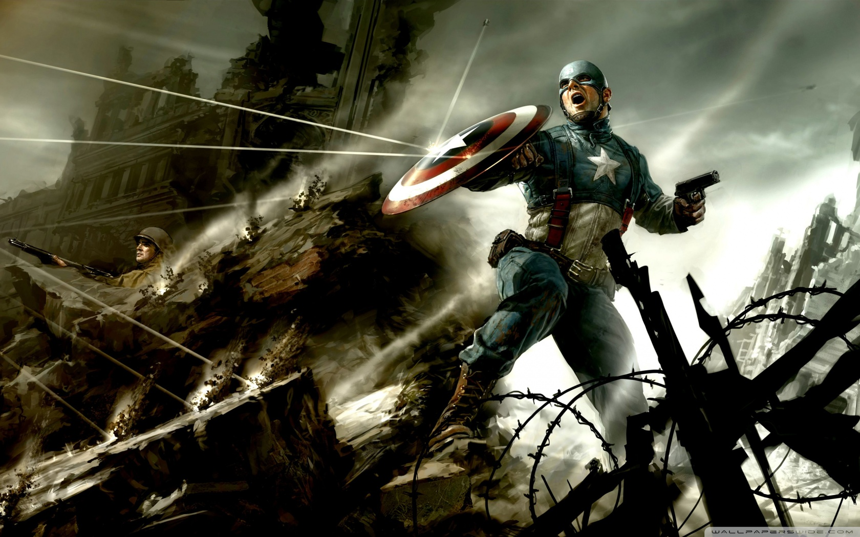 Captain America Comic Wallpapers Images – Epic Wallpaperz