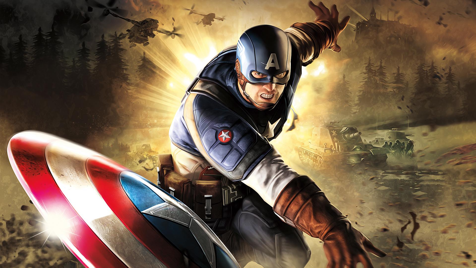 Captain America Hd Wallpaper Sf Wallpaper
