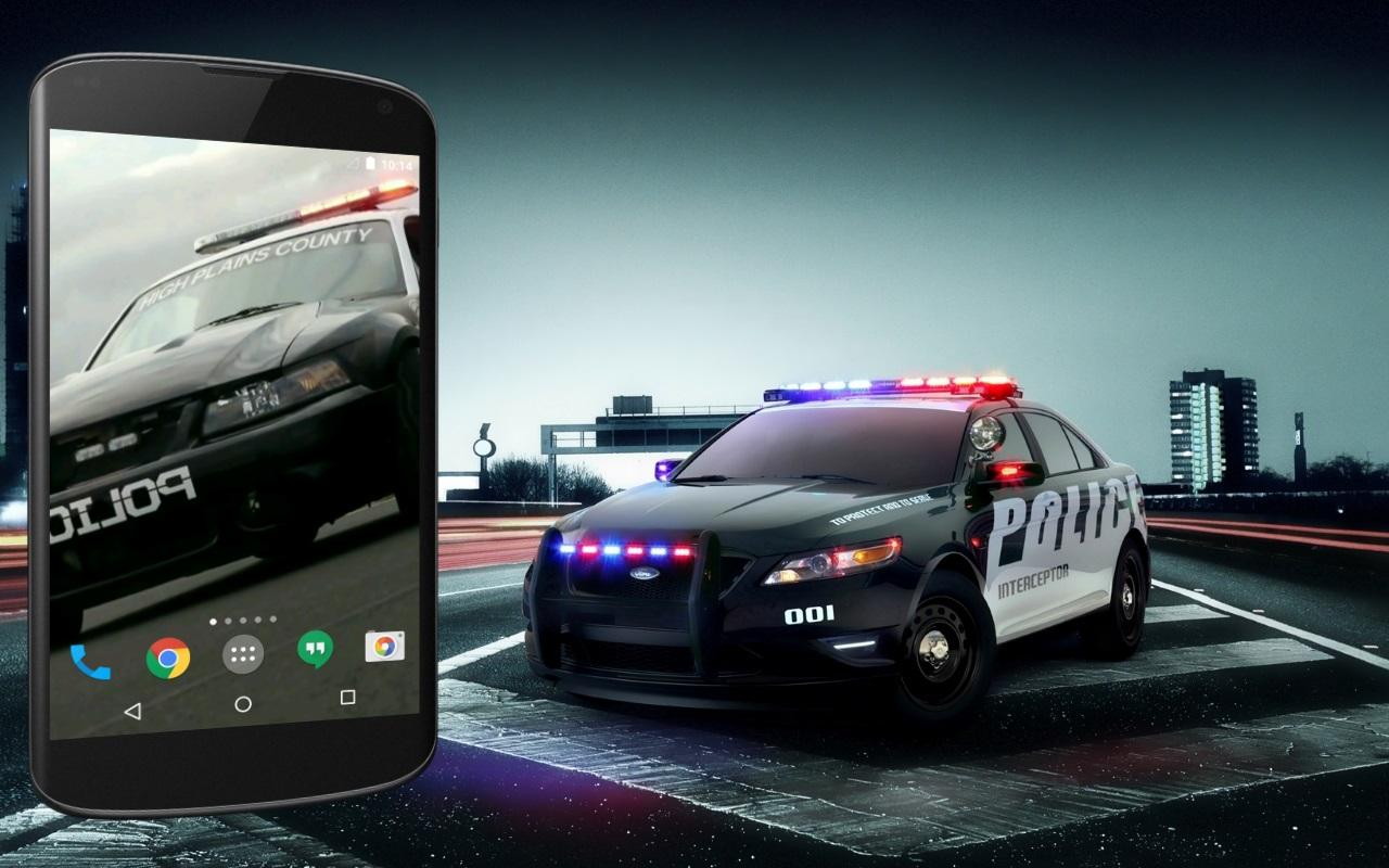 Police Car Live Wallpaper   Android Apps On Google Play