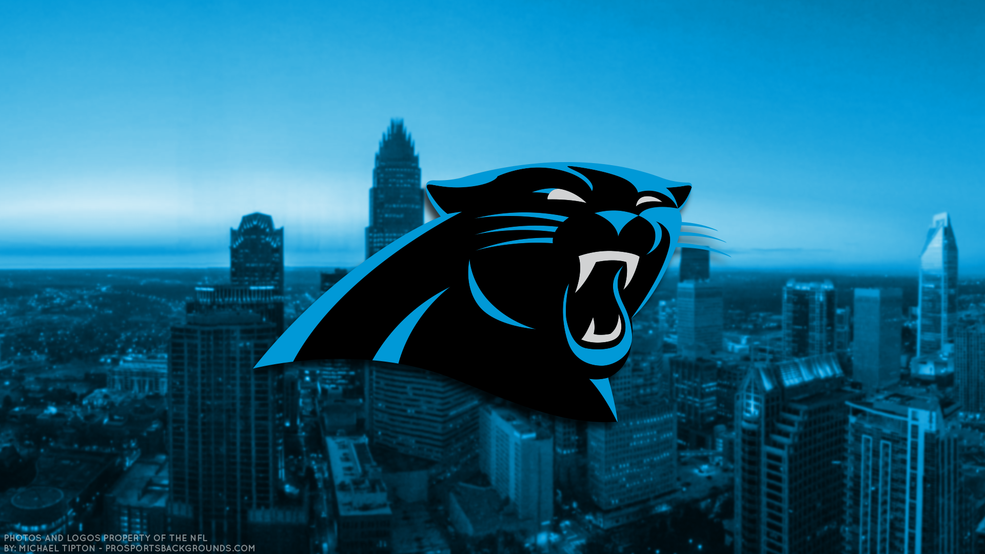 Carolina Panthers 2017 HD 4k Schedule Wallpaper