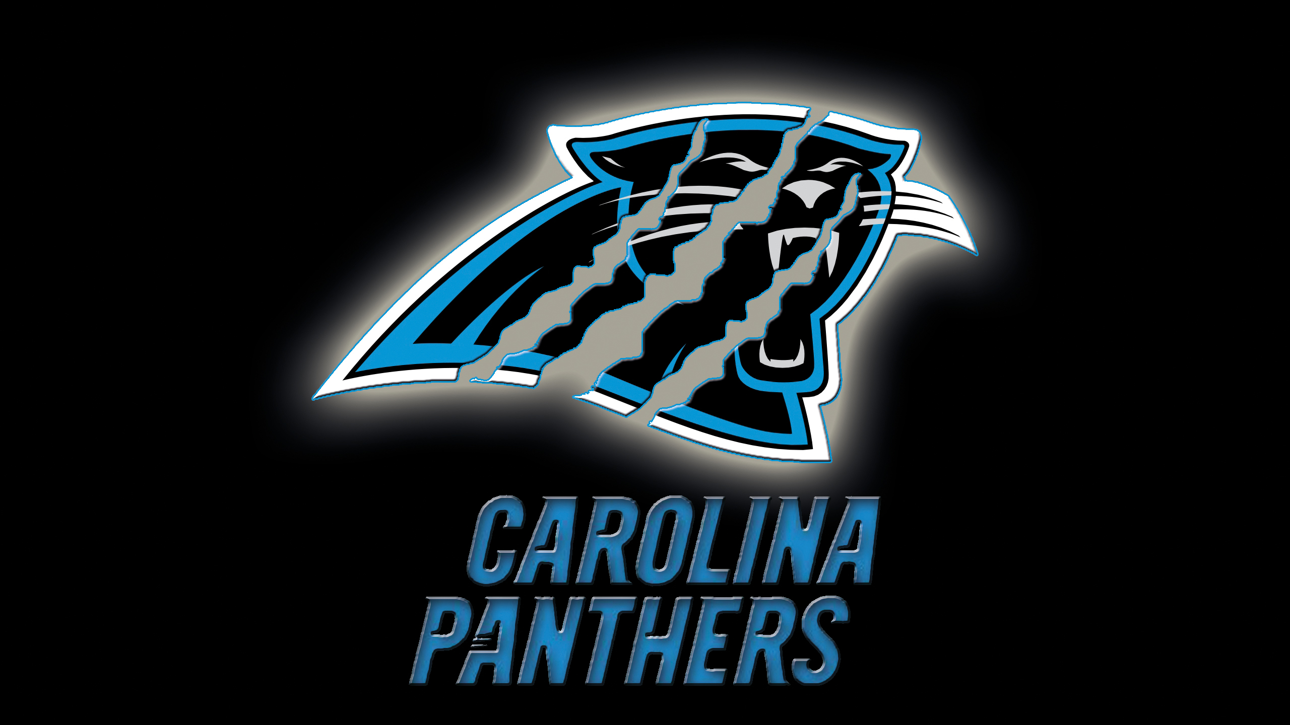 Carolina Panthers Logo Wallpaper HD | PixelsTalk Net