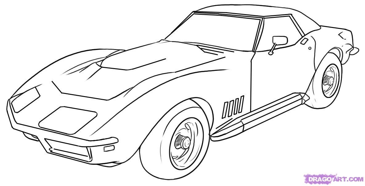 Cars Drawings Sf Wallpaper