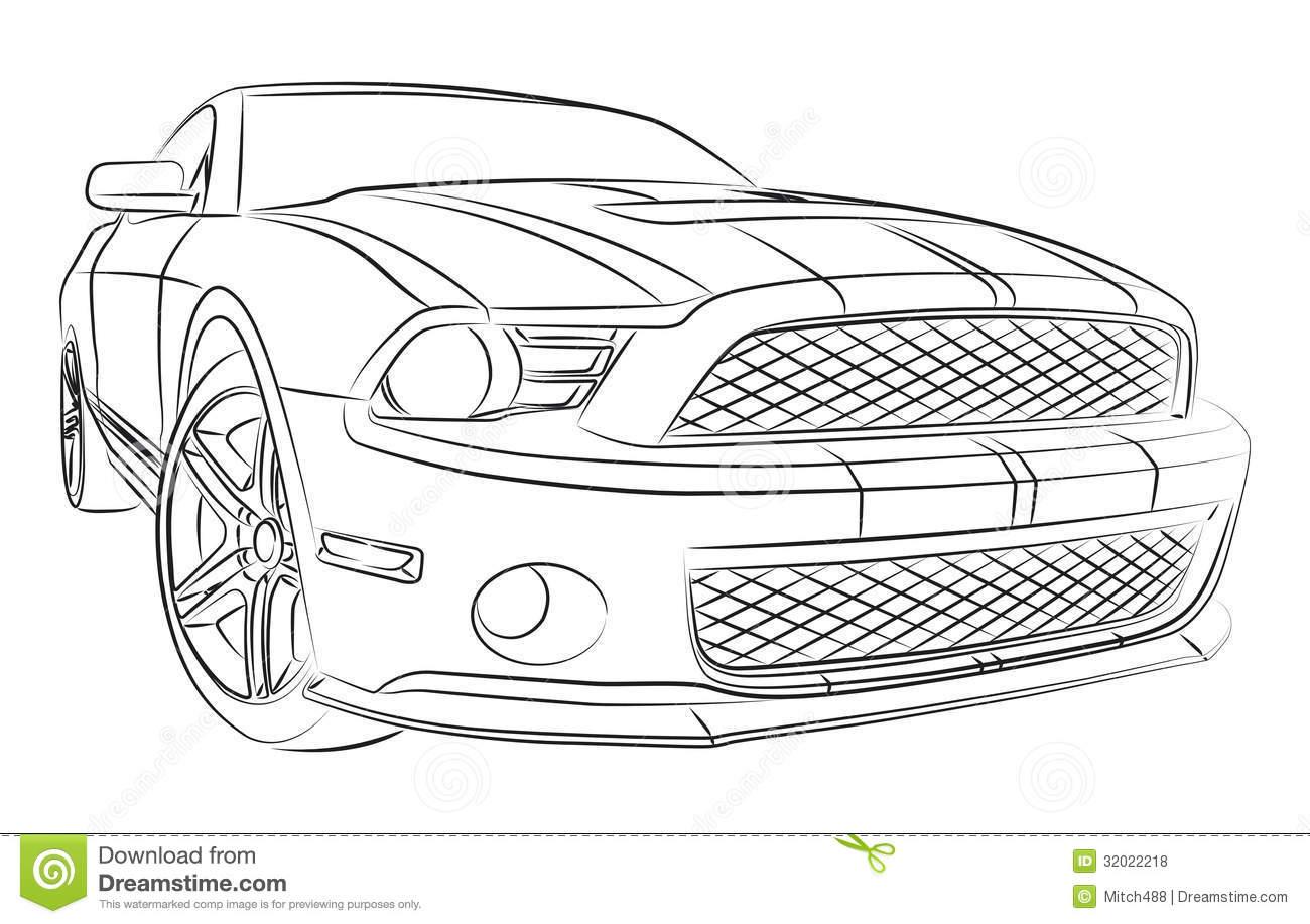 Cars drawings - SF Wallpaper