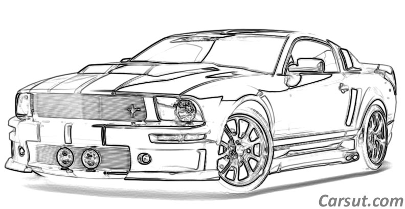 Cars Drawings Sf Wallpaper
