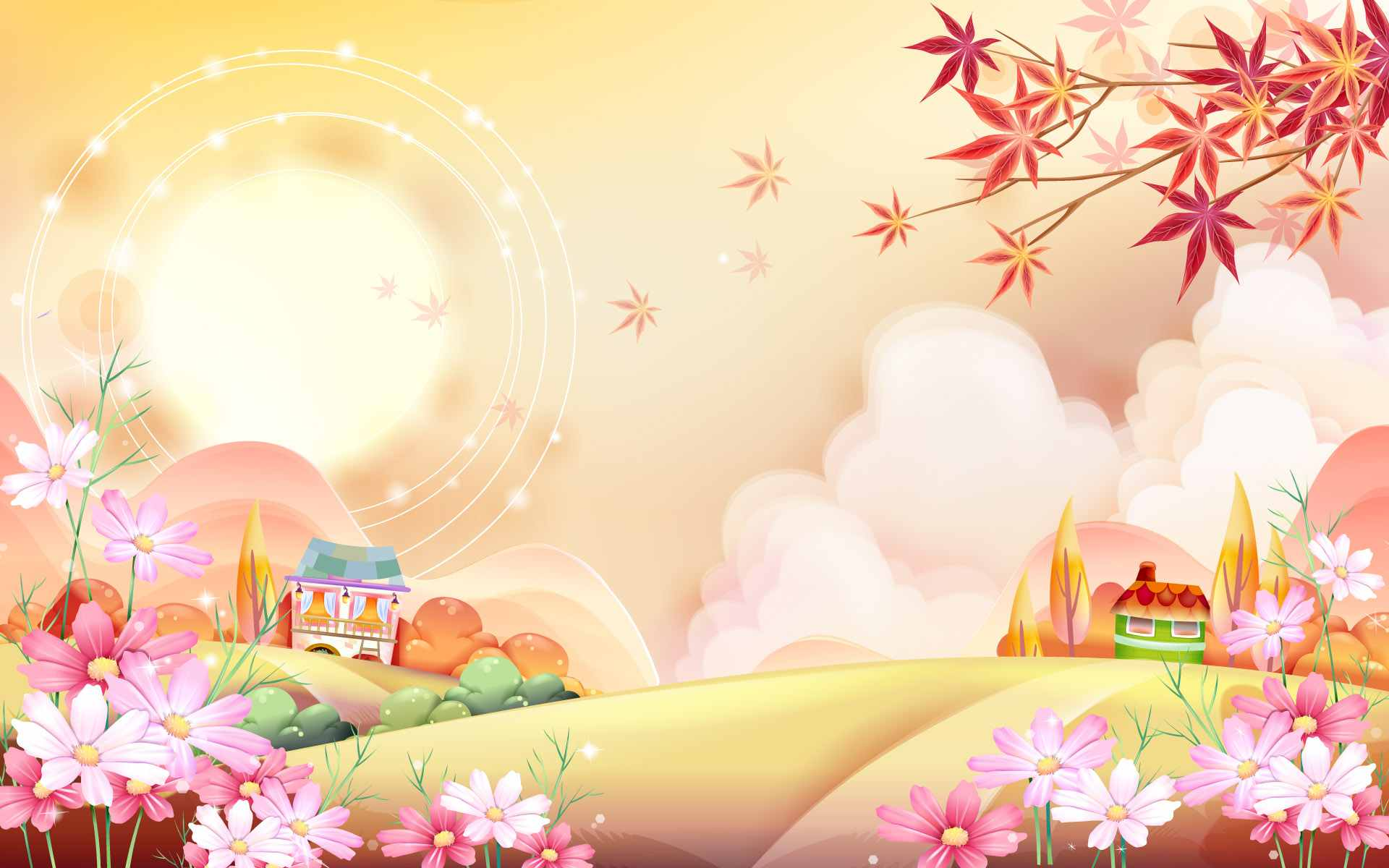 Cartoon Backgrounds Group (64+)