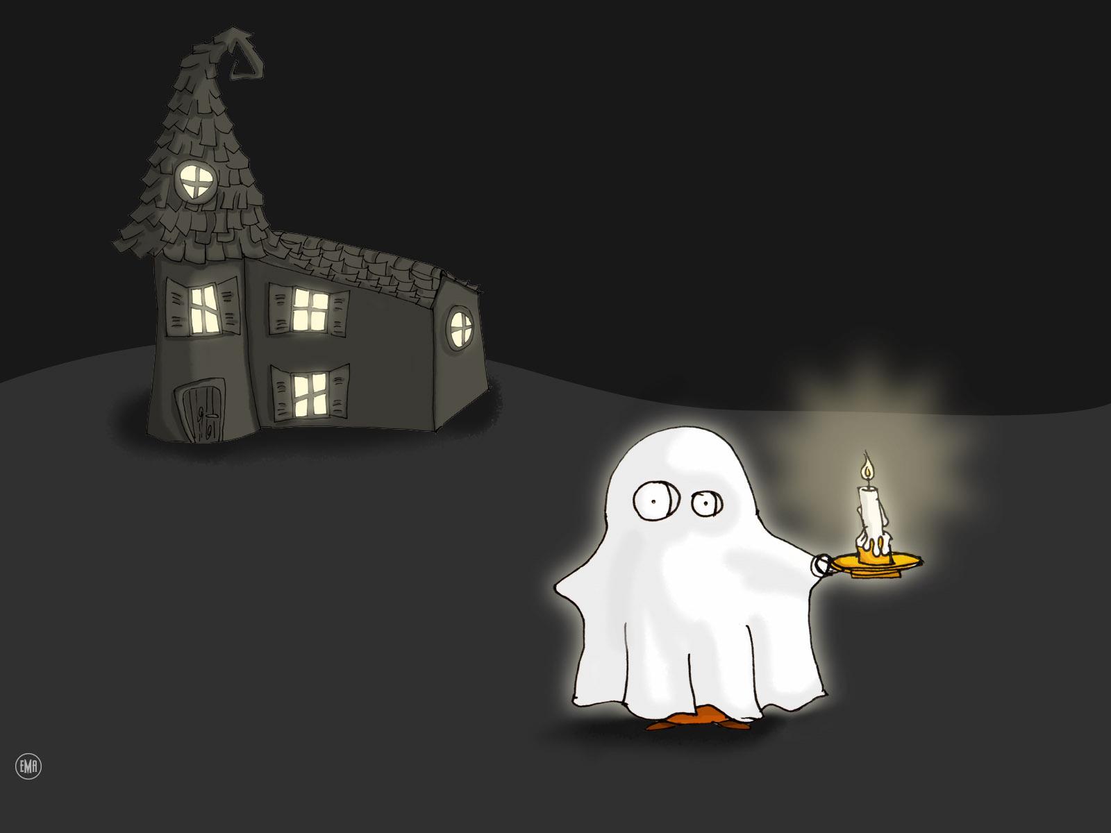 Cartoon Halloween Wallpaper
