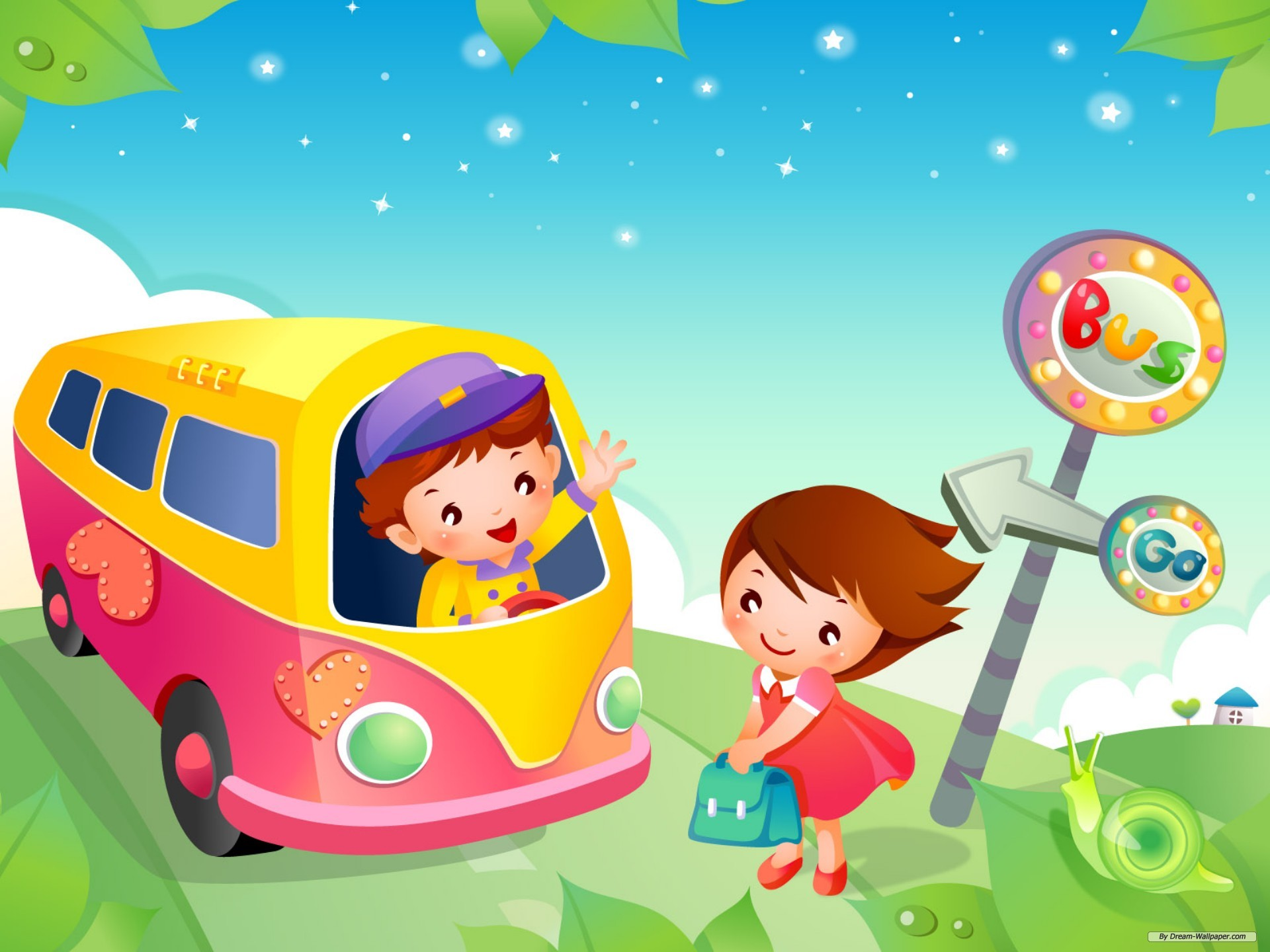 Kids Cartoons: Latest Kids Cartoon HD Wallpaper & Video Free