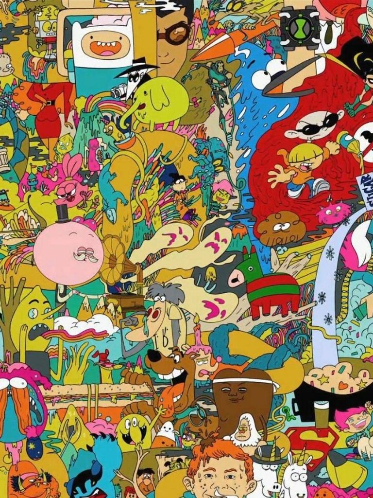 Cartoon network wallpapers - SF Wallpaper