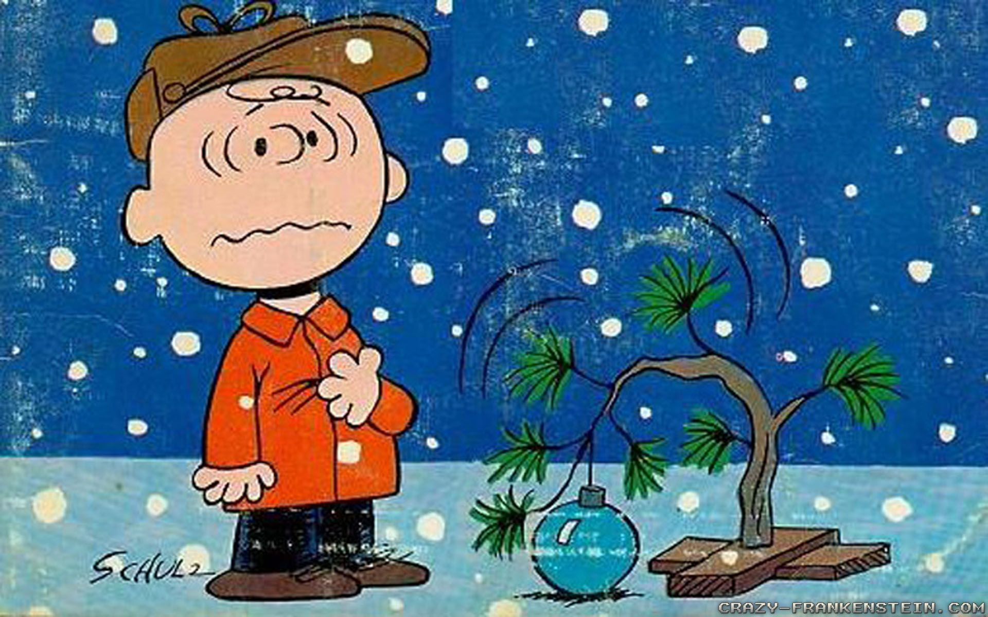 charlie brown christmas tree wallpaper - sf wallpaper