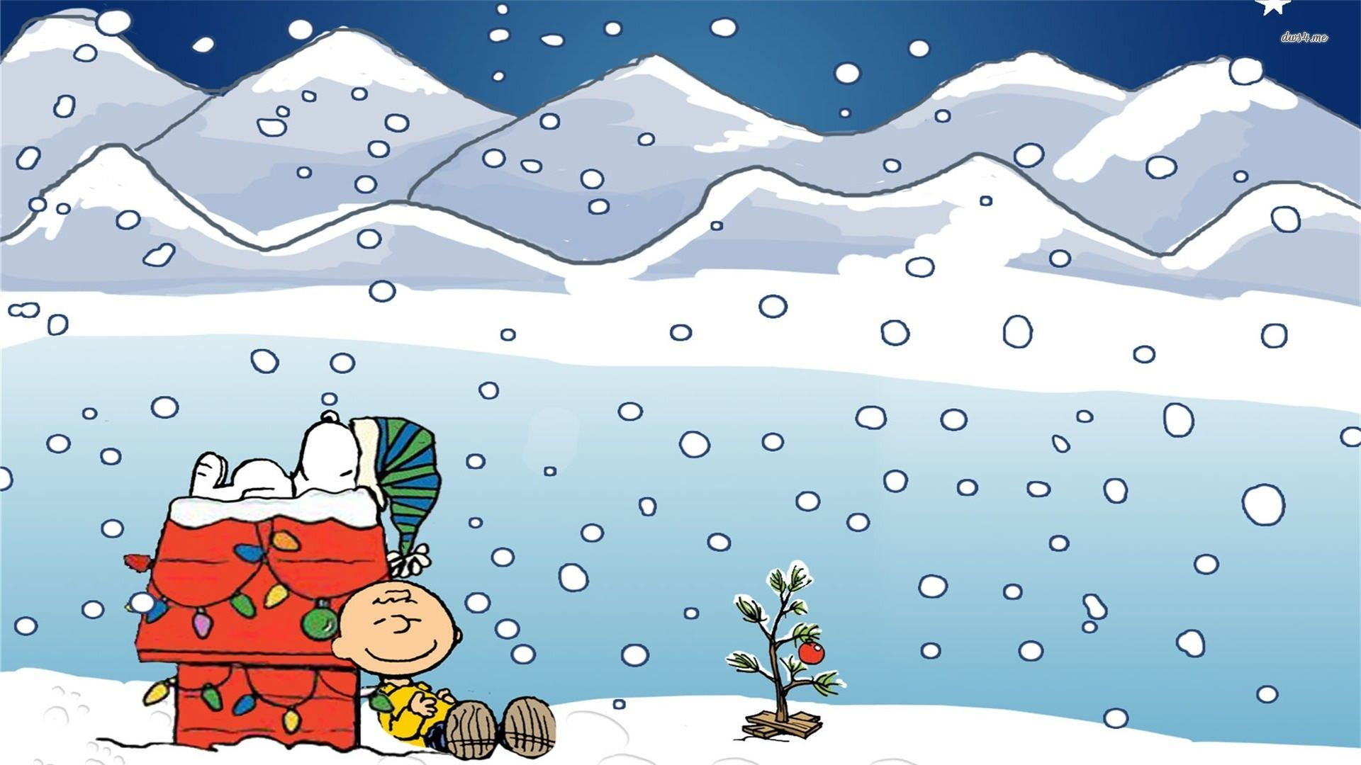 Charlie Brown Christmas Tree Wallpapers Group (56+)