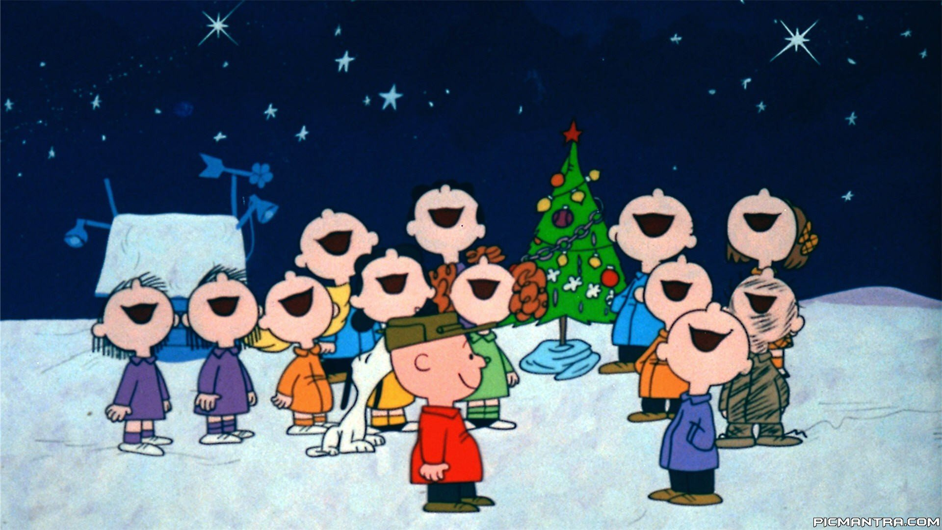 Charlie Brown Christmas Wallpaper Hd Thecannonball Org