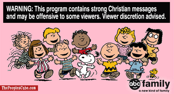 Charlie Brown Christmas 'Christian Content' Warnings