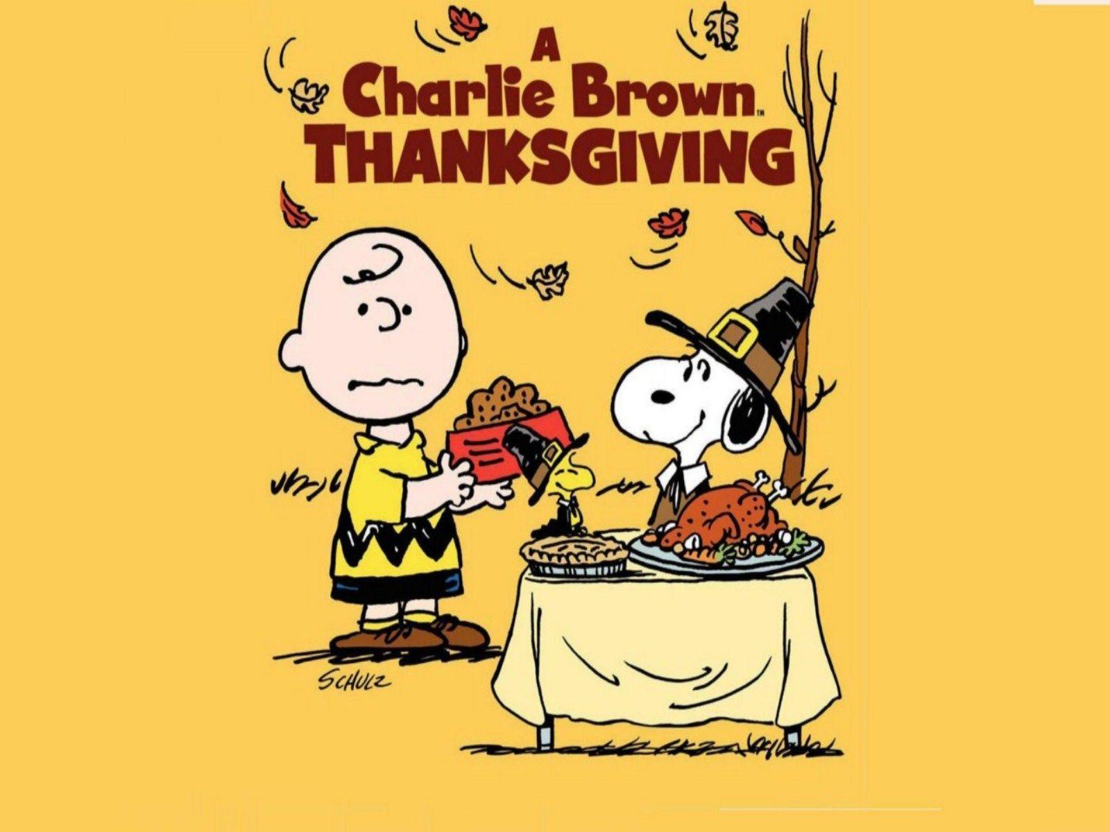 Charlie brown thanksgiving wallpaper