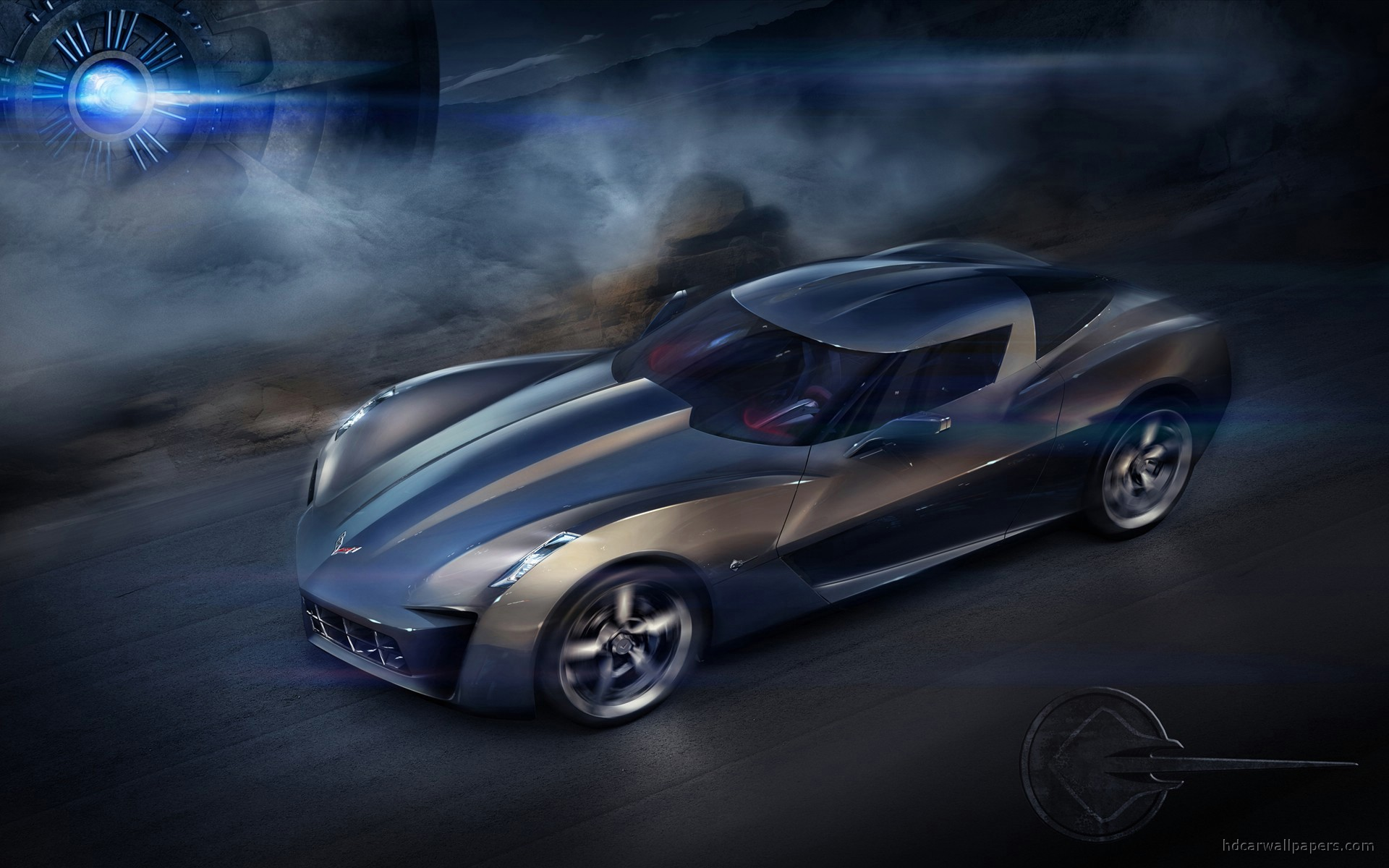 Chevy Corvette Stingray Wallpaper - WallpaperSafari