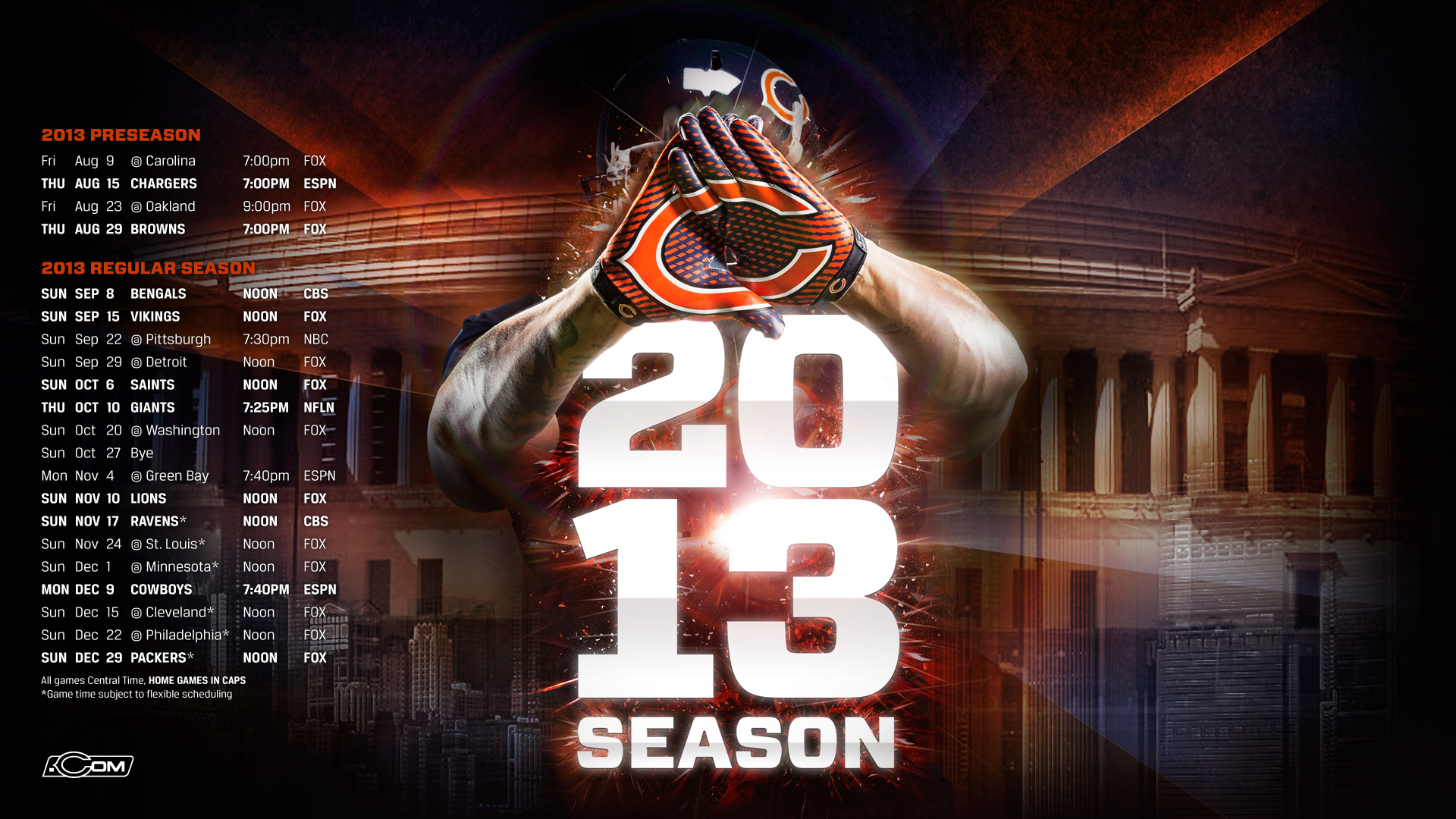 chicago bears wallpaper - sf wallpaper