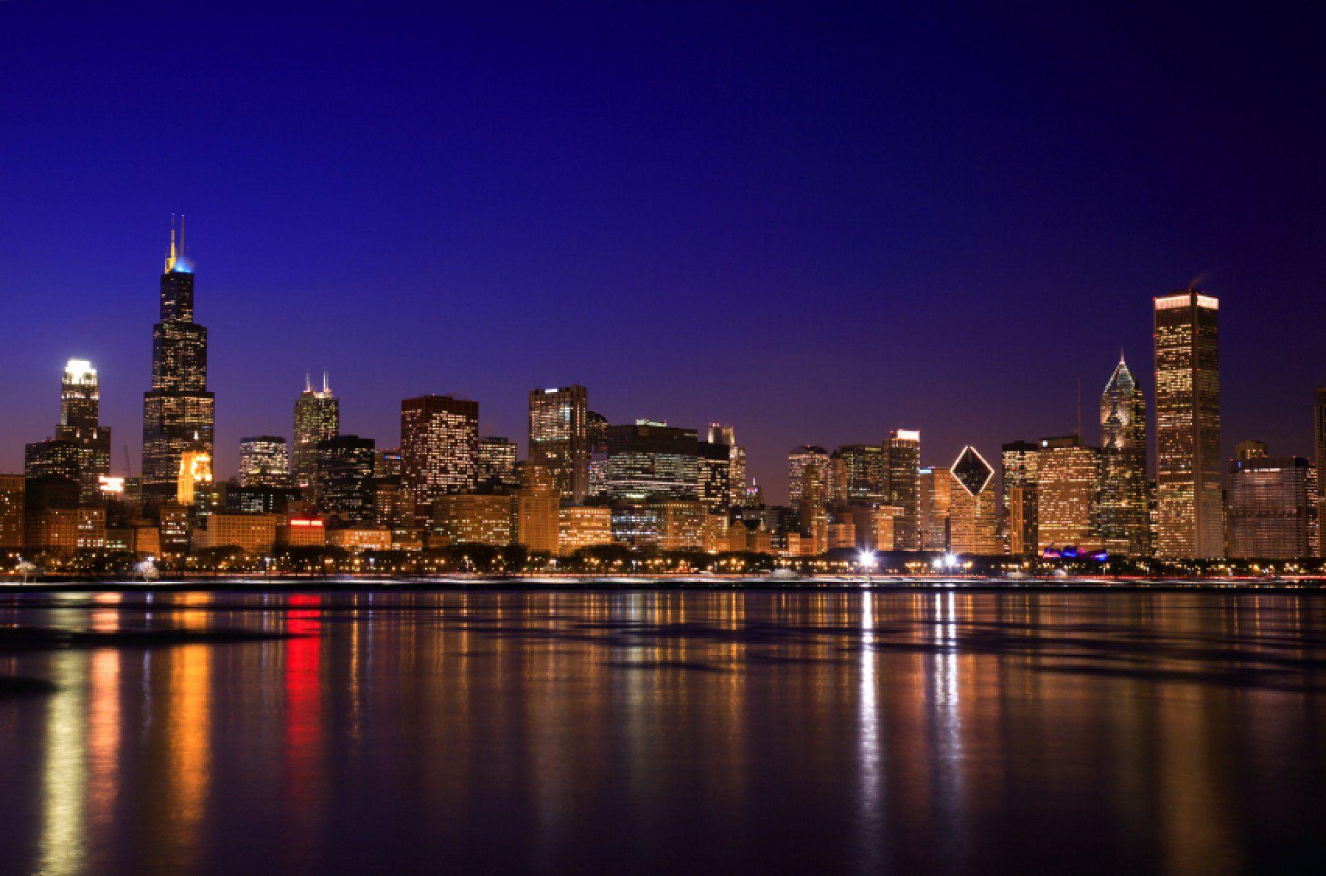 Must see Wallpaper Night Chicago - chicago-skyline-desktop-wallpaper-1  Image.jpg