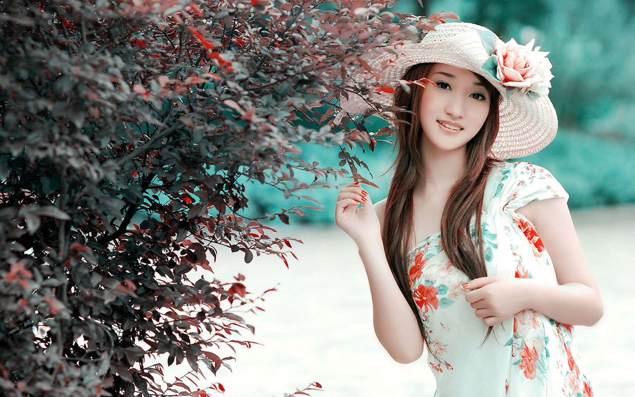 Download Fantasy Art Graphy Chinese Girls Wallpaper 1280x800