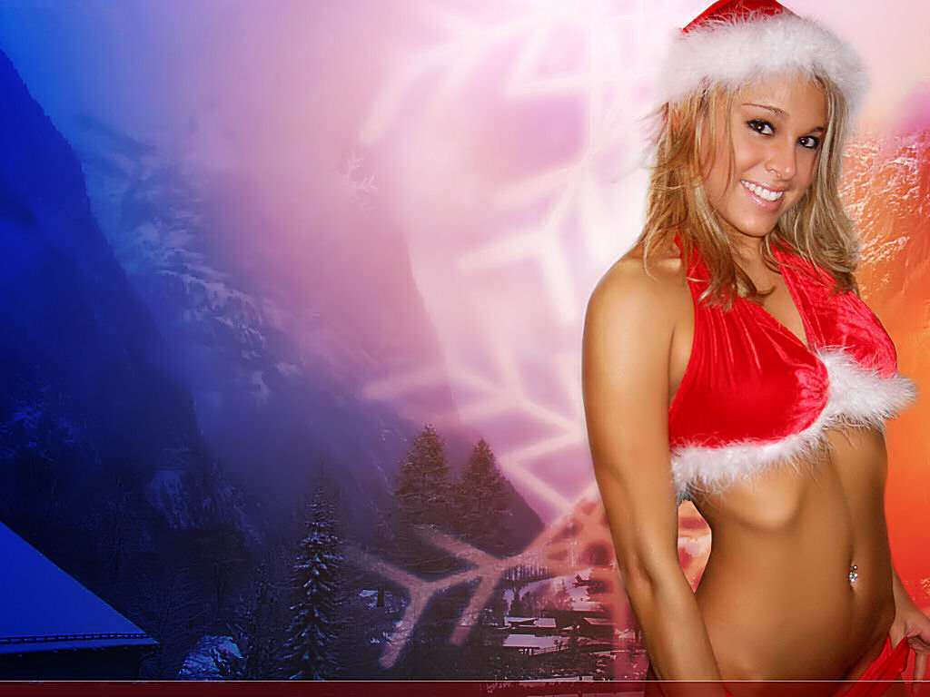 christmas Sexy Man Wallpaper | christmas hot babe photo Width