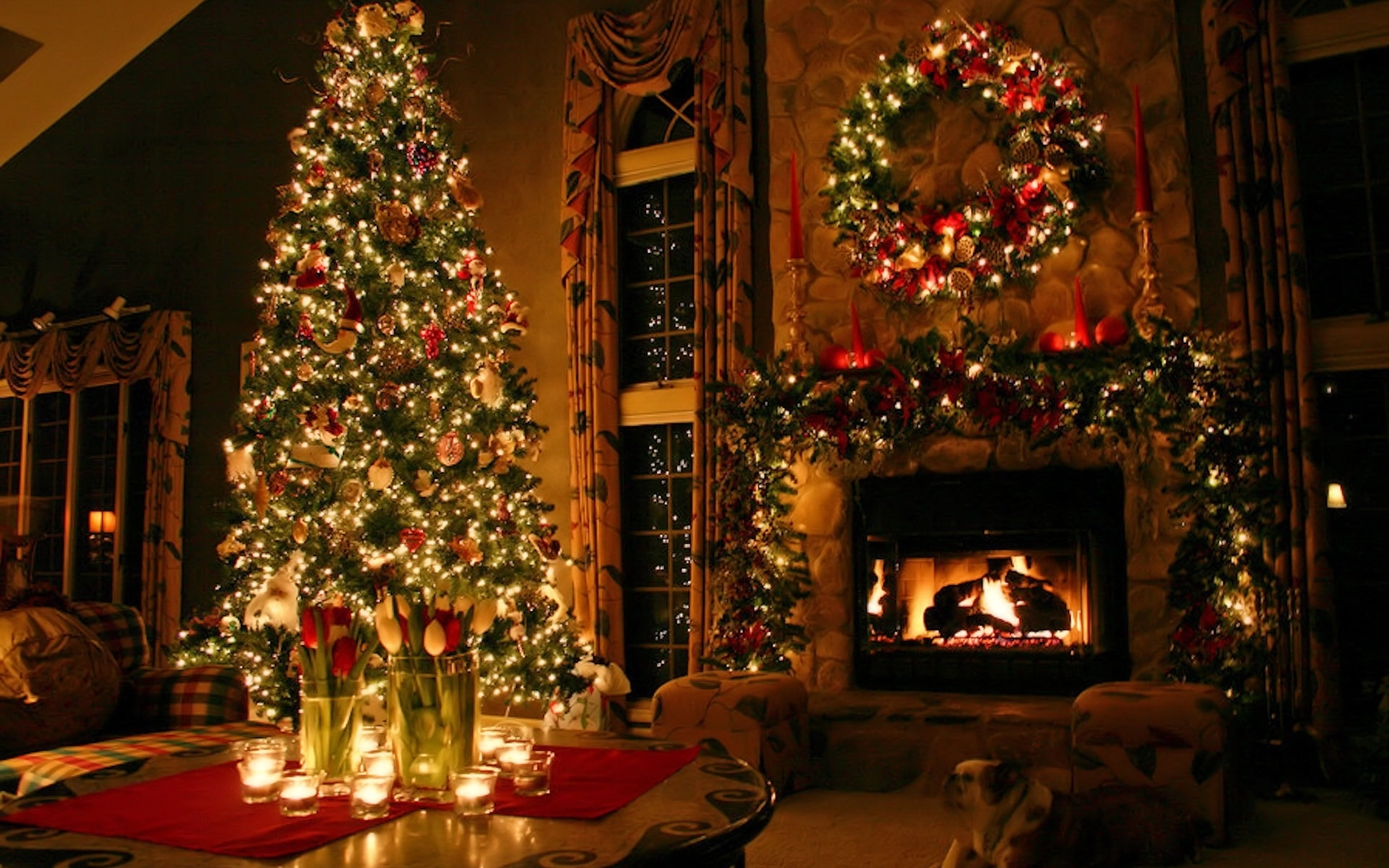 Christmas Background Pictures For Desktop - Wallpapers High Definition
