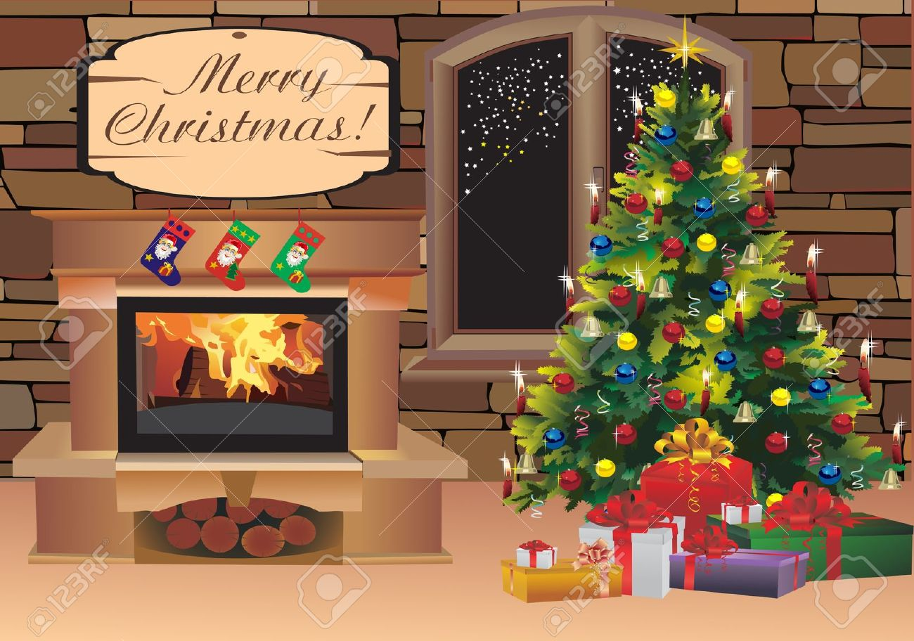 Christmas Background Scenes Sf Wallpaper