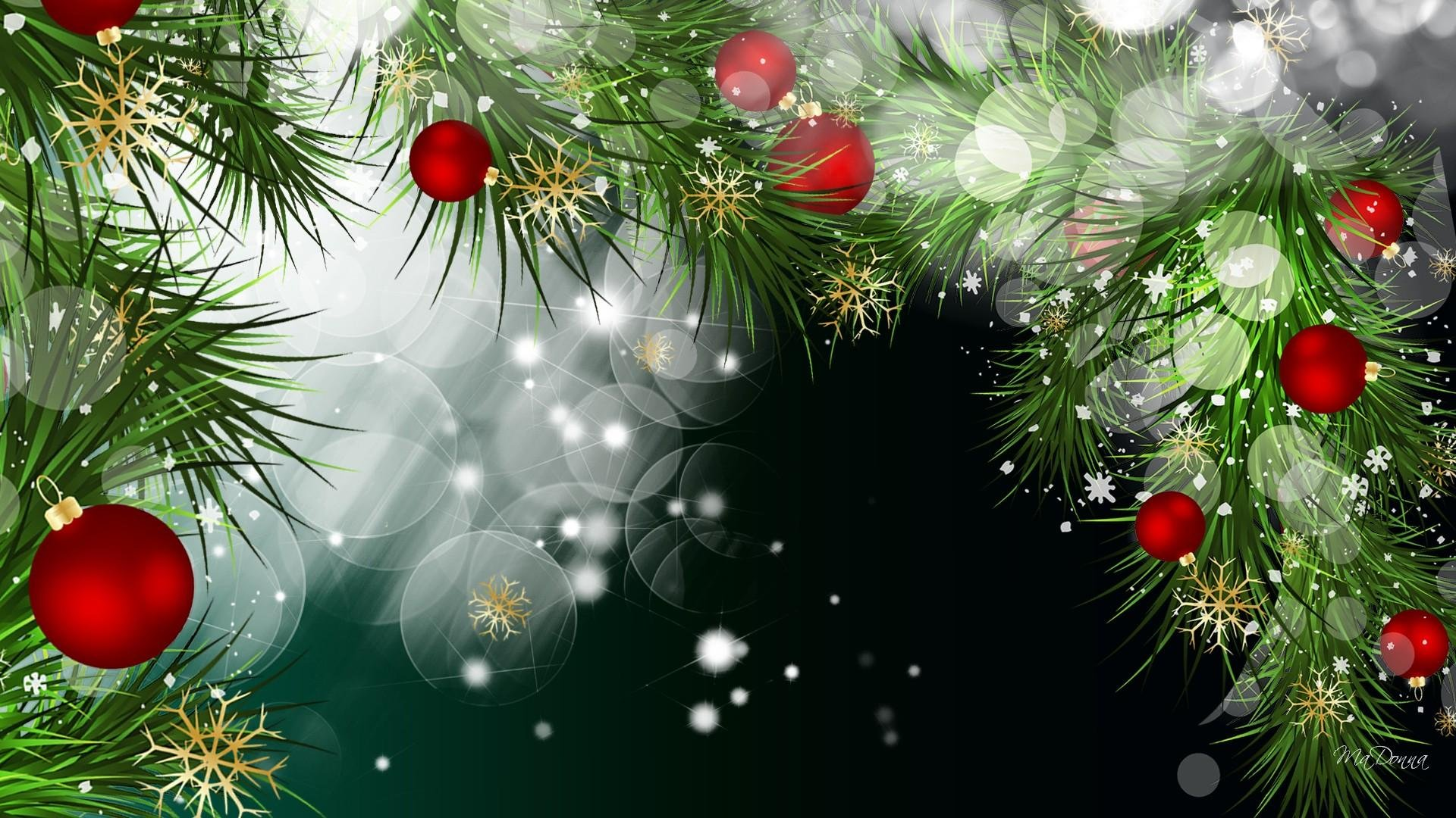 Bright Christmas Backgrounds Wallpaper