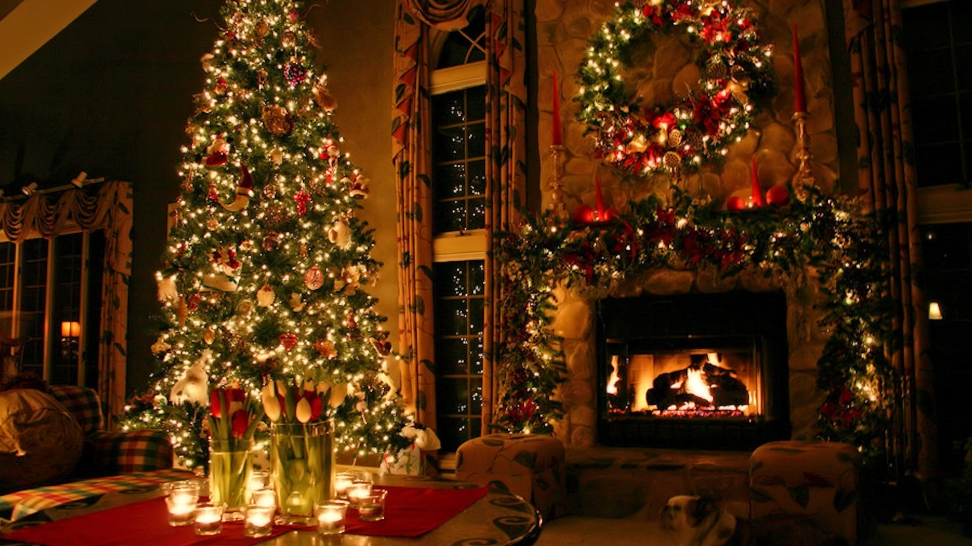 Christmas Computer Background - Wallpapers High Definition