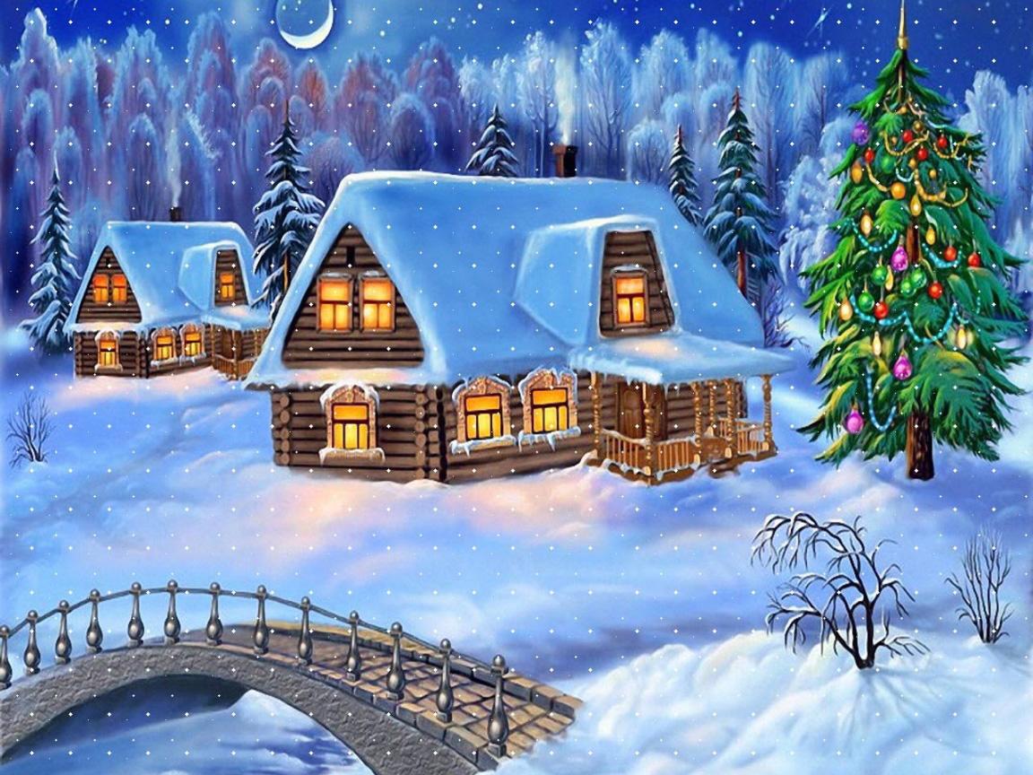 Christmas Desktop Wallpapers Free Download Group (85+)