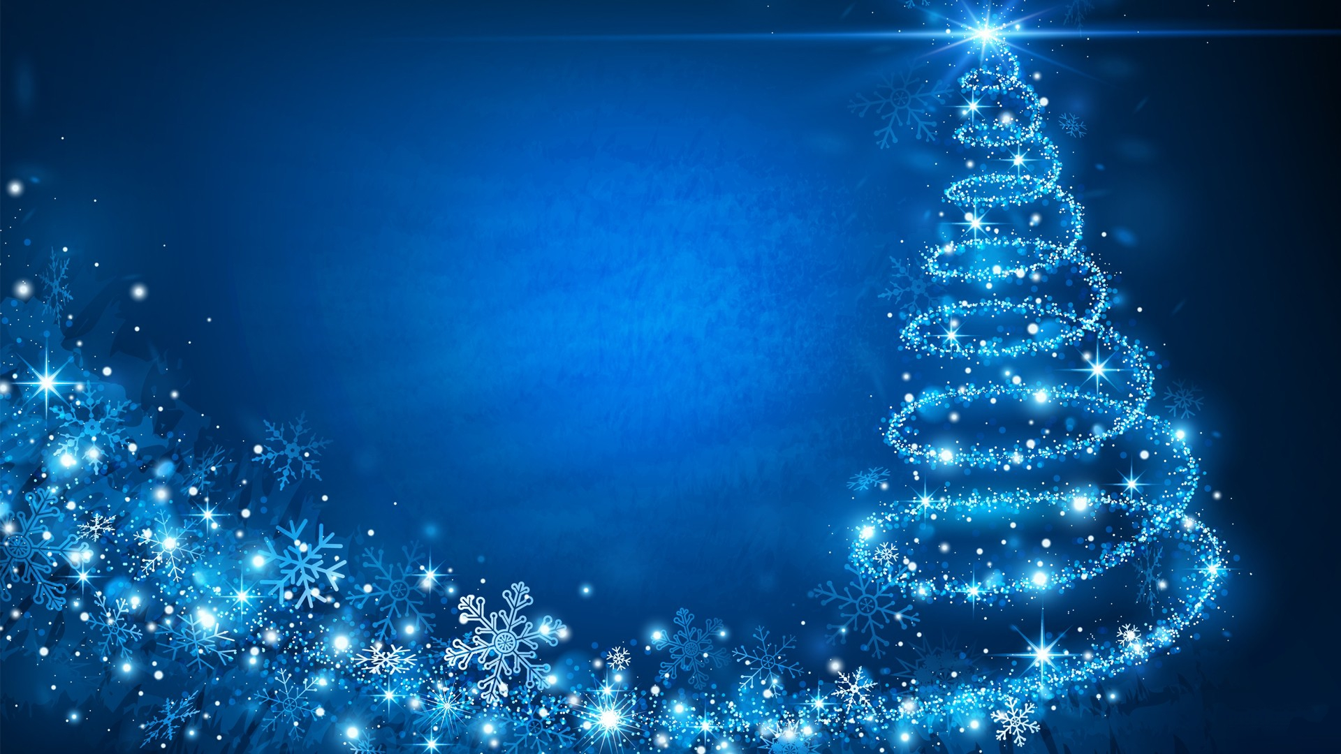 Blue Christmas Wallpaper HD | PixelsTalk Net