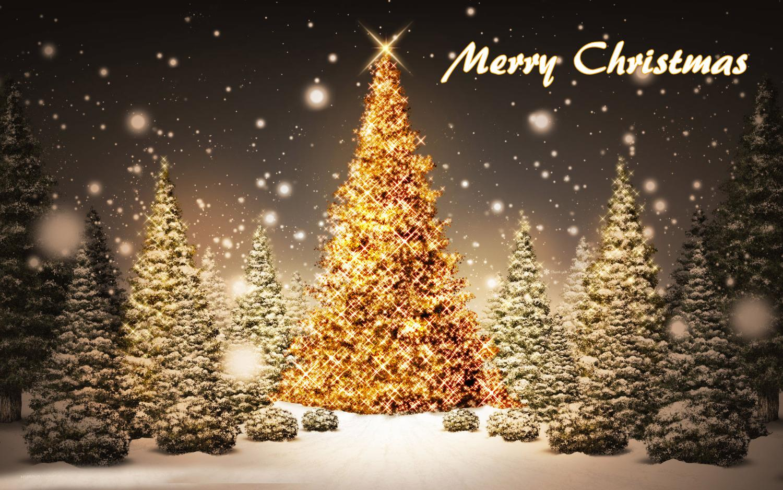 Merry Christmas Hd Free Wallpaper Mocihada