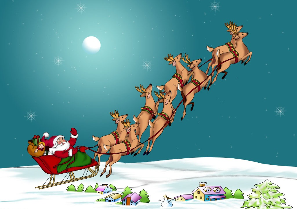 Merry Christmas Hd Wallpaper Free Download