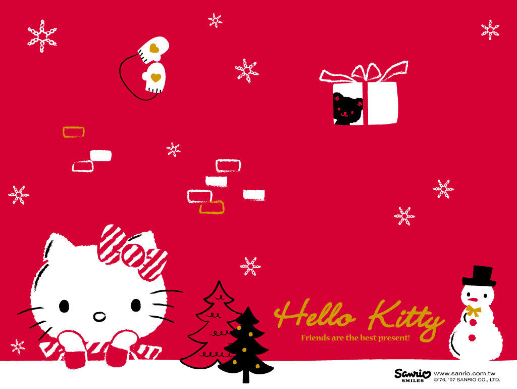 Hello Kitty Holiday Wallpapers | Hello Kitty Wallpapers