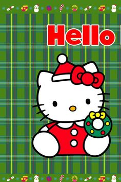 Hello Kitty Wallpaper | Hello Kitty Christmas Desktop Wallpaper