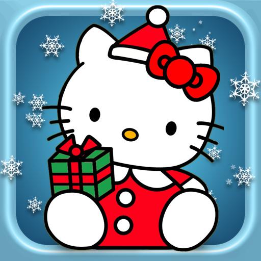 Christmas Hello Kitty Wallpaper - WallpaperSafari