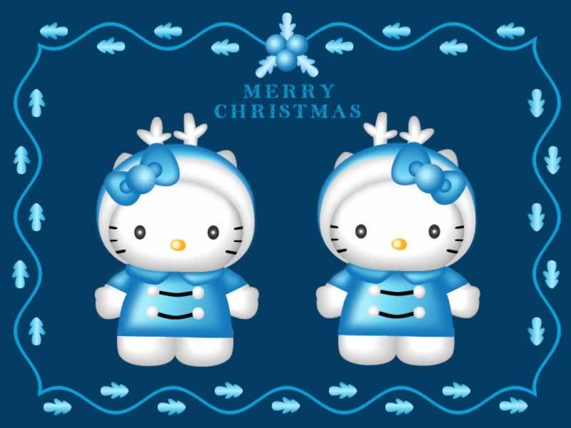 Free Hello Kitty Christmas Wallpaper - WallpaperSafari