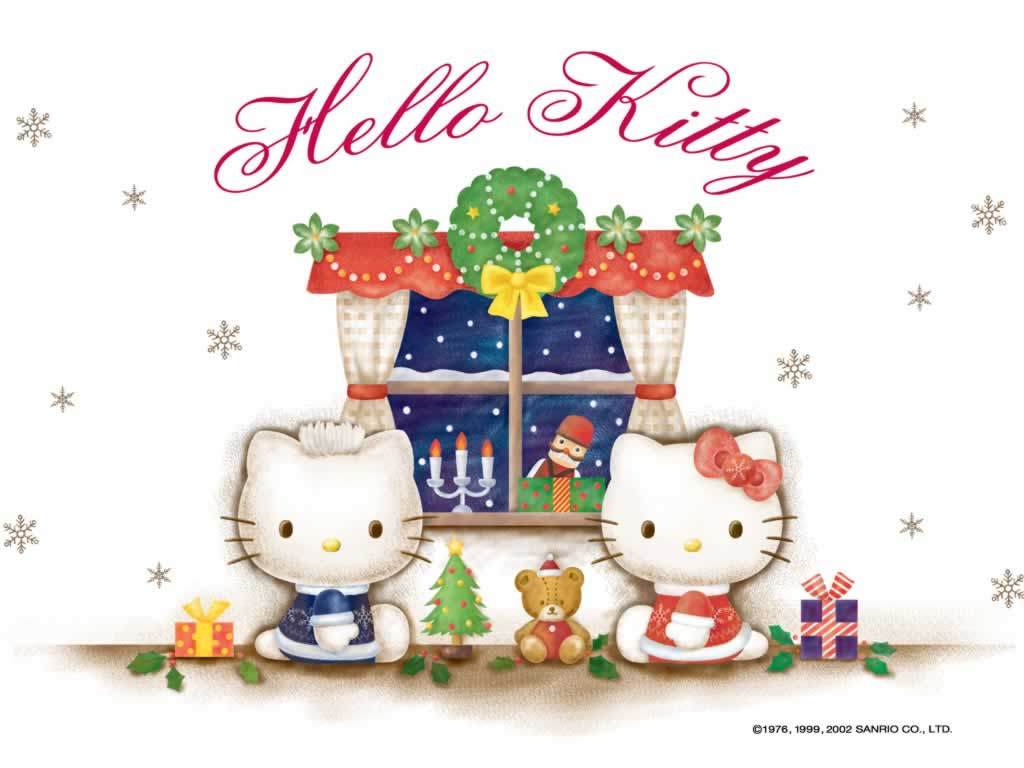 Christmas Hello Kitty Wallpapers - Wallpaper Cave