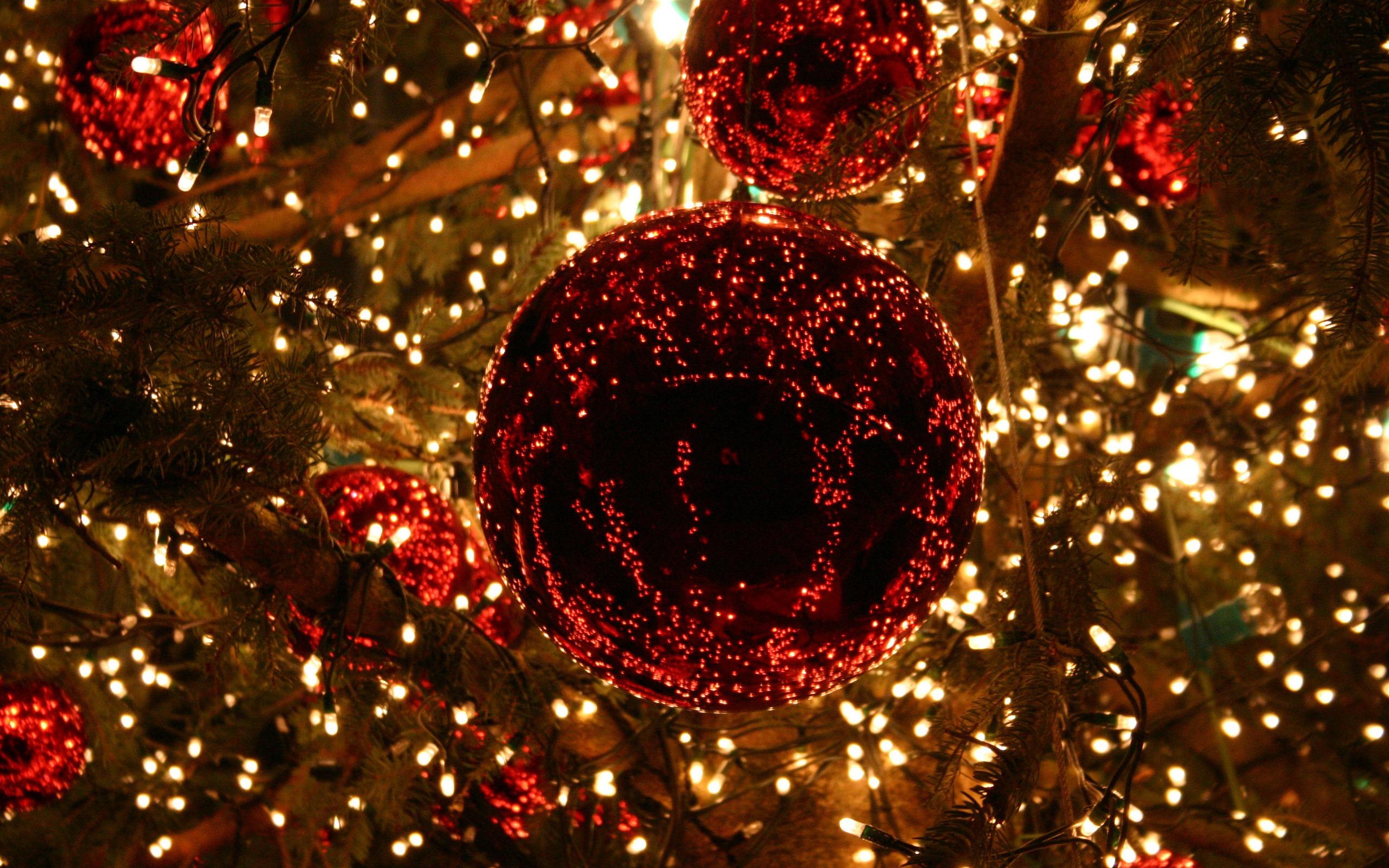 Christmas Lights Wallpaper for Computer - WallpaperSafari