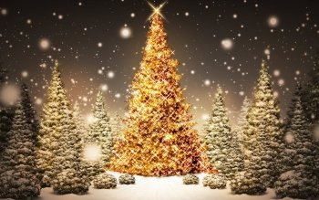 216 Christmas Lights HD Wallpapers