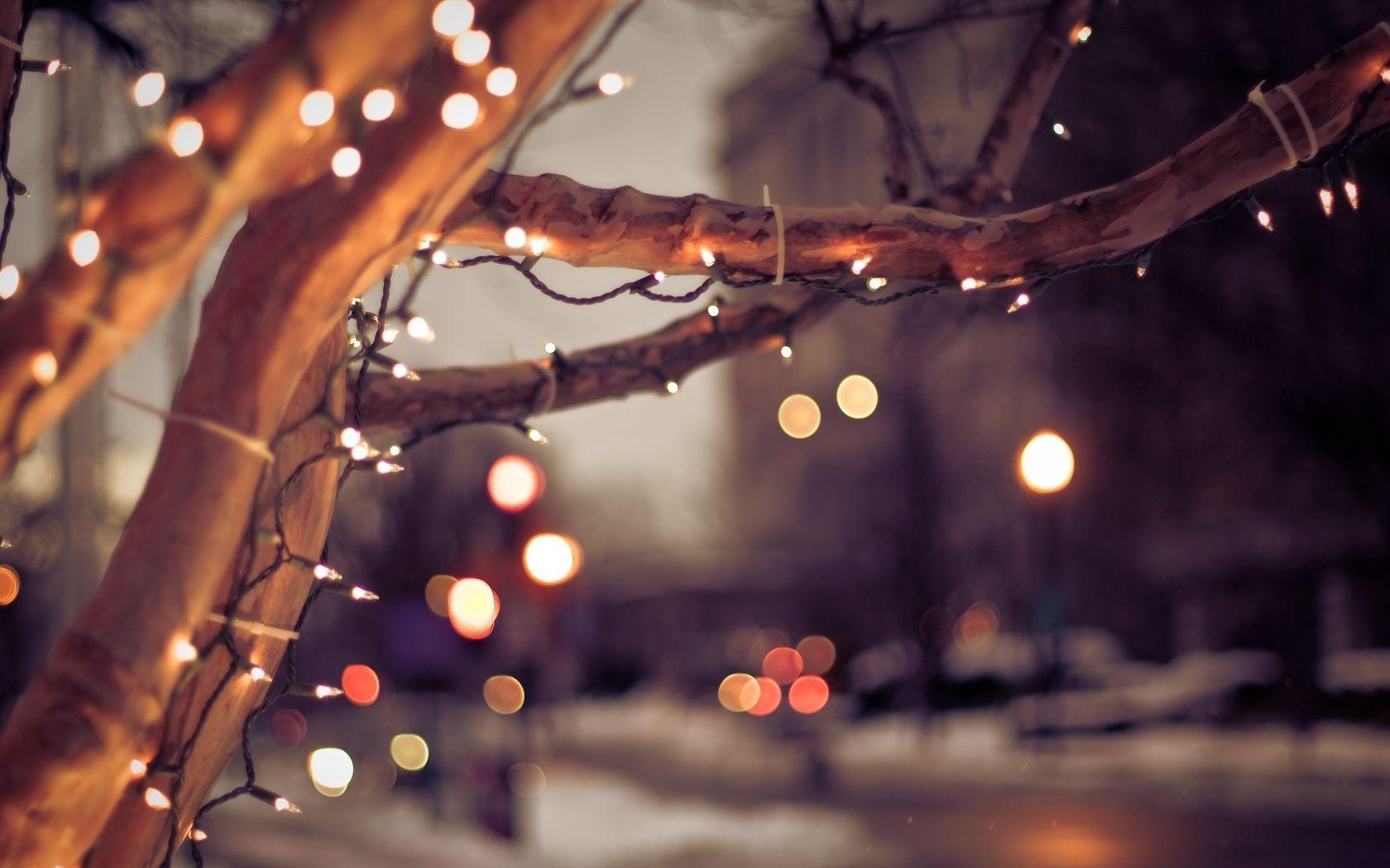 Christmas Lights Wallpapers - Wallpaper Cave